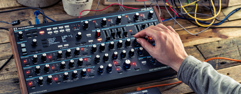 Novation Peak Firmware 1.2