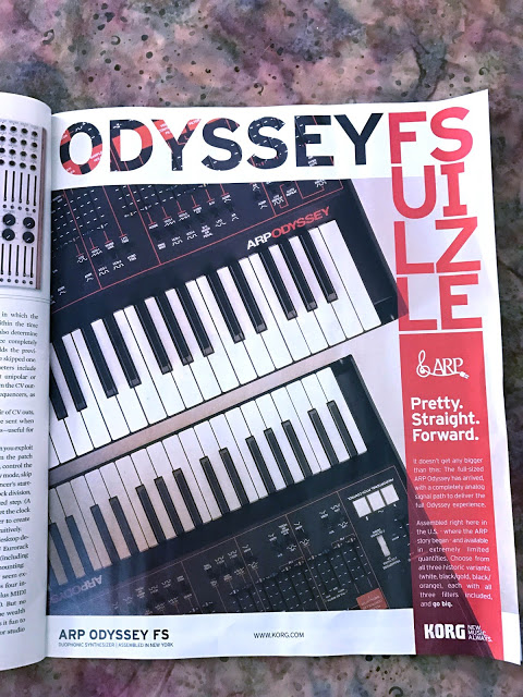 KORG ARP Odyssey Full Sized will be available soon - SYNTH