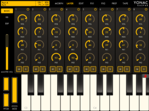 Yonac KASPAR Synthesizer Review - 8 Synthesizers In One Single App