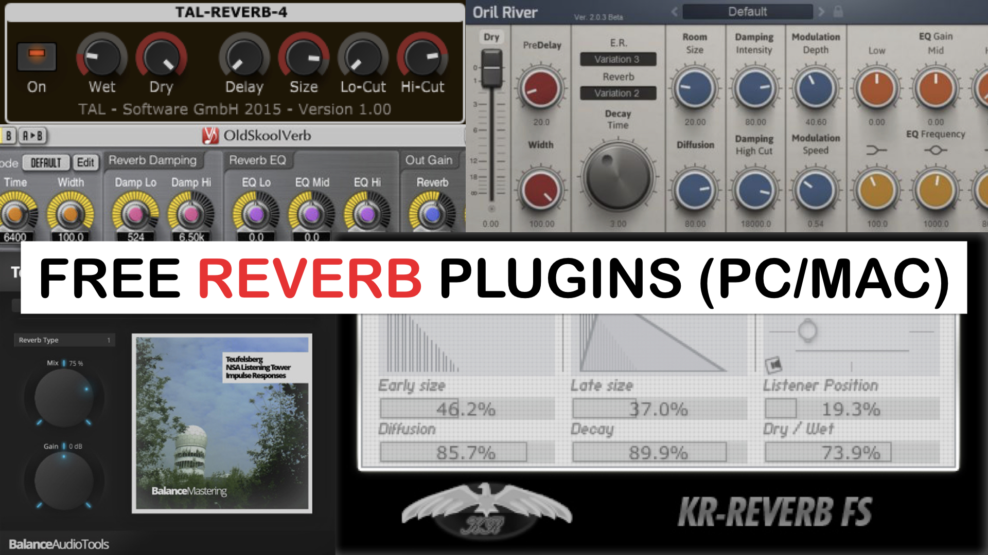 Best Free Reverb Plugins For PC & Mac - SYNTH ANATOMY