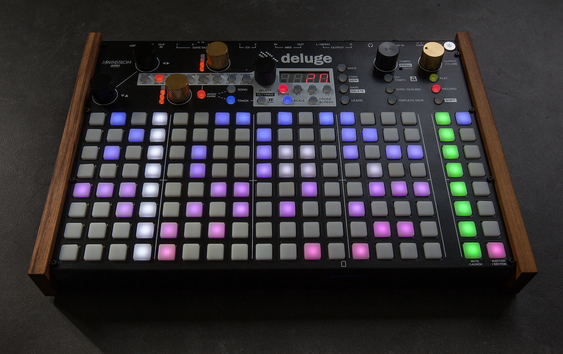 Synthstrom Audible Deluge Story, Everything Started With A Sequencer