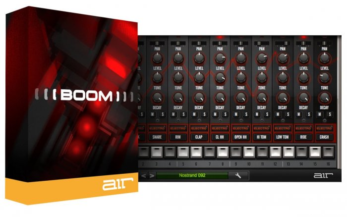 AIR Music Tech Released Boom & Vacuum Classic Synthesizer As