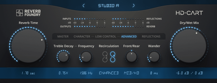 Reverb Foundry Released HD Cart - An Accurate Emulation Of The