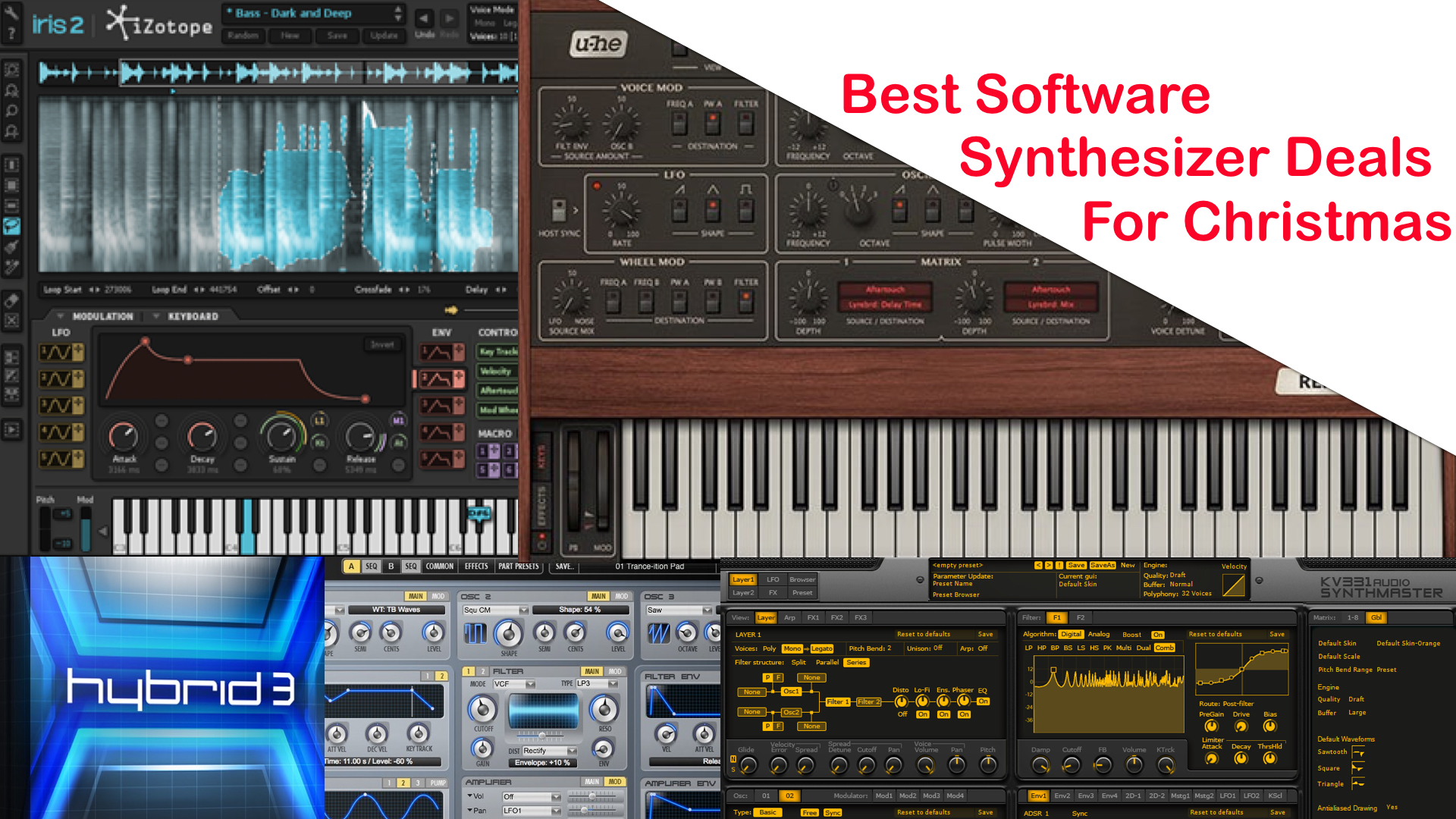 Best Software Synth Deals - SYNTH ANATOMY