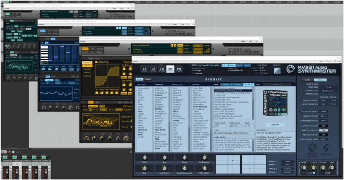 SynthMaster Synthesizer 2 9 Features Now Wavetable Synthesis!