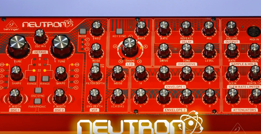 behringer neutron semi modular analog synthesizer announced. Black Bedroom Furniture Sets. Home Design Ideas