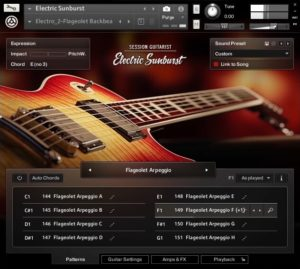 Electric Sunburst Is A New Virtual Guitar Instrument For