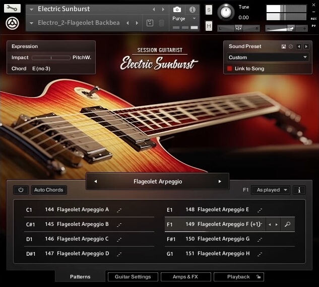 electric sunburst is a new virtual guitar instrument for kontakt 5 player. Black Bedroom Furniture Sets. Home Design Ideas