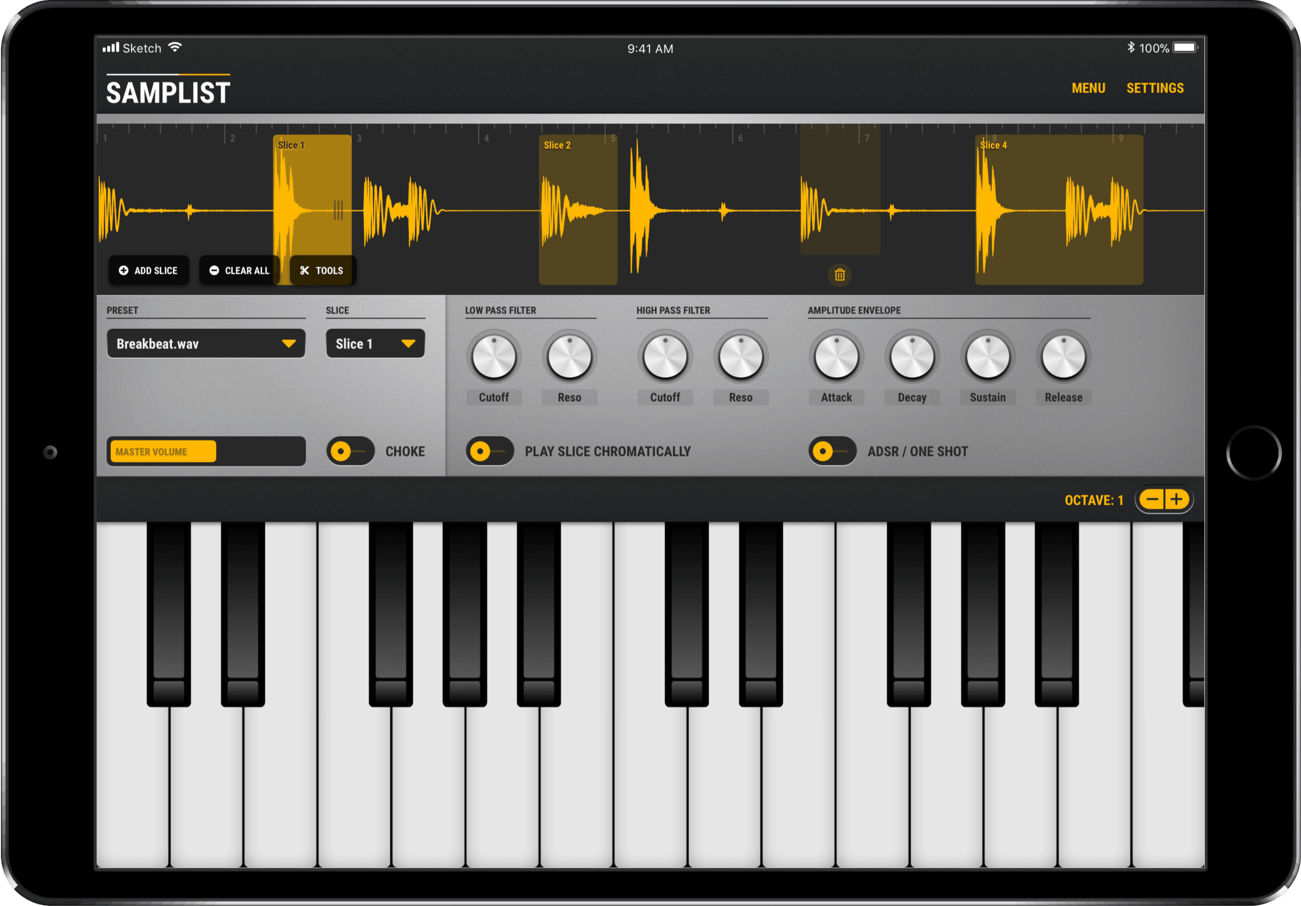 Samplist Is A New MIDI Sampler Instrument For iOS