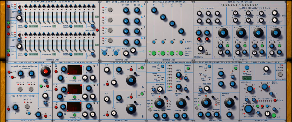 cloudlab 200t v2 by released a buchla style synthesizer for reaktor 6. Black Bedroom Furniture Sets. Home Design Ideas