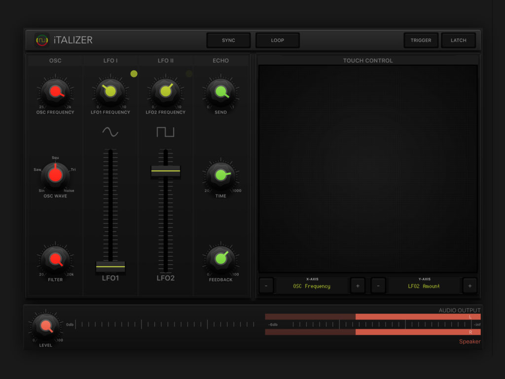 iTALIZER Synthesizer Review - An iOS Sound Design App For FX