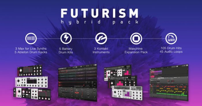 Futurism Is A New Bass Music Sound Pack For Kontakt 5, Maschine, M4L