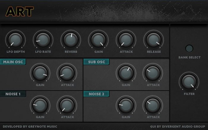 ART Synth Rompler (VST/AU) Features Sounds From The Waldorf