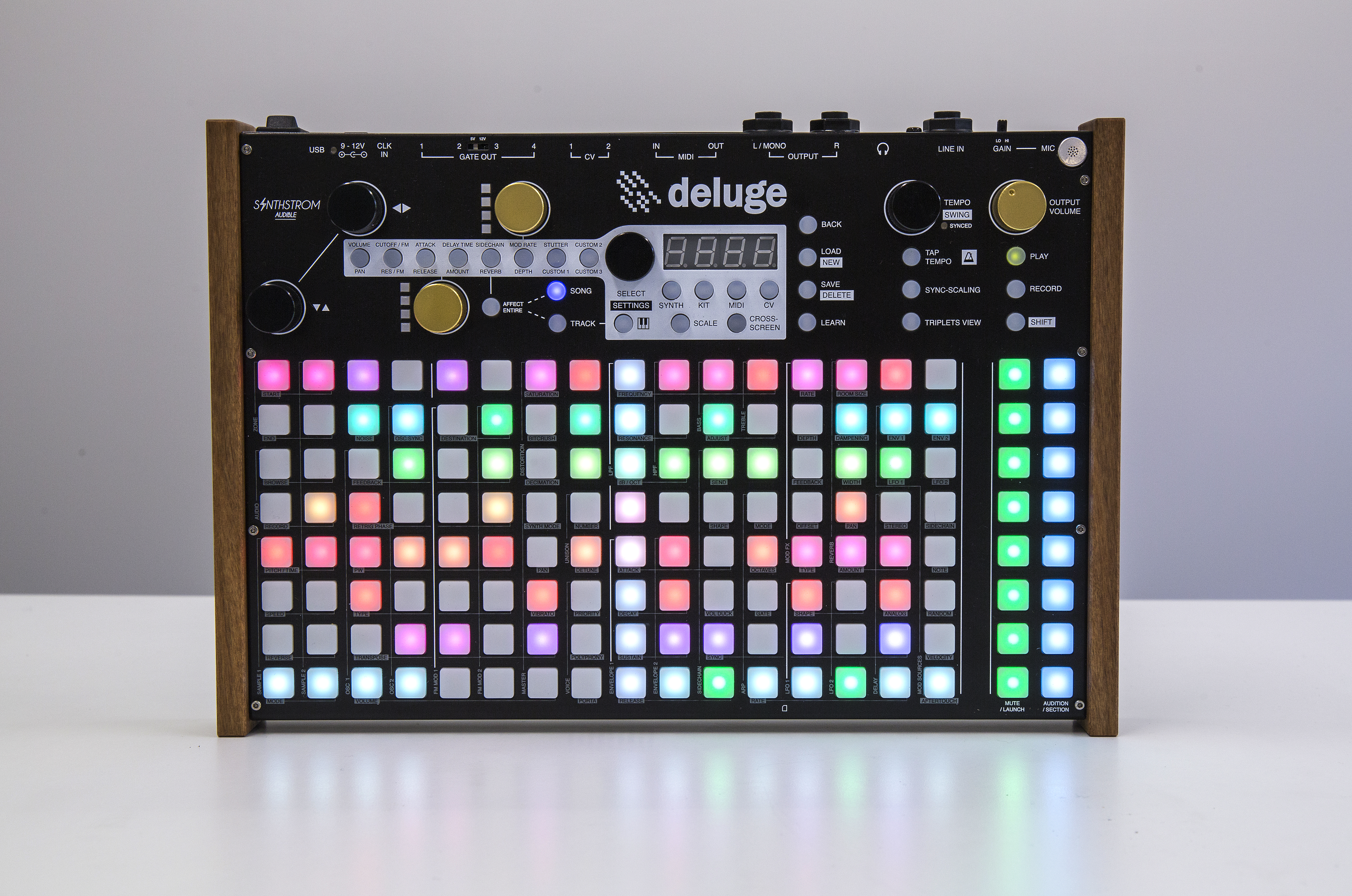 Synthstrom Audible Deluge 2 0 Firmware Is Now Available