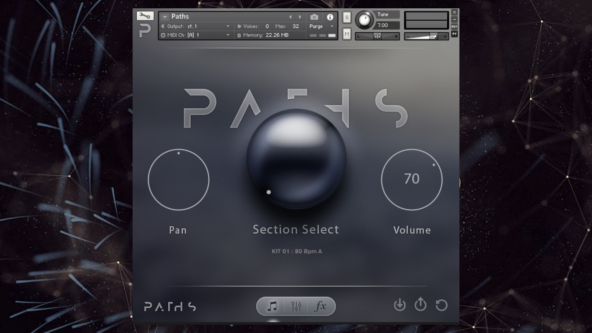 Audiomodern PATHS Review Virtual Instrument For Kontakt 5
