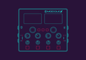 MOD DUO X Is A Standalone Multi-Effect Audio Processor With