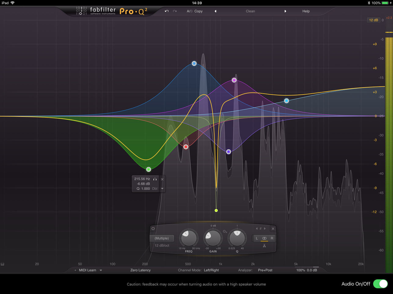 FabFilter Released Pro-Q2 High-Quality Equalizer For iOS AUv3
