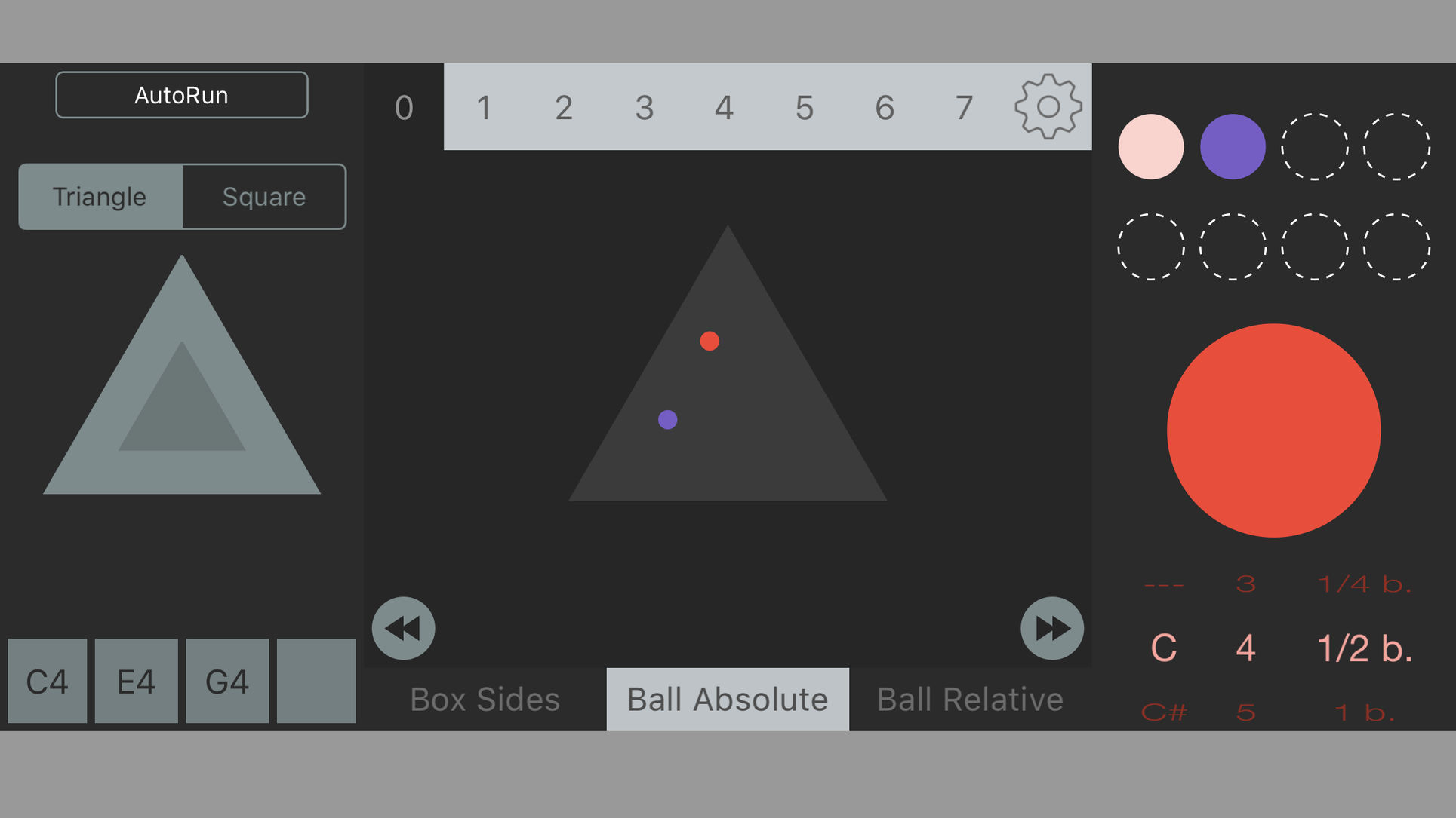 Physicles Is An Unique Physics-Based Free AUv3 MIDI App For iOS