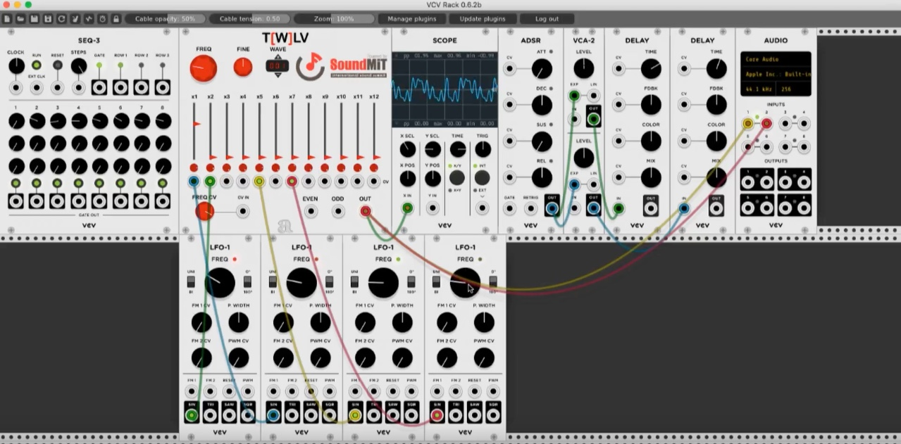 Soundmit Released T [W] LV - A Free Oscillator Module For