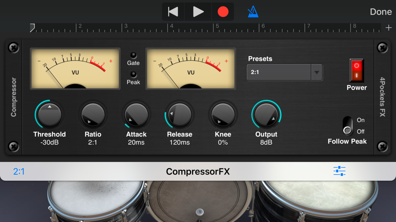 4Pockets New iOS AUv3 Apps: Compressor, Expander