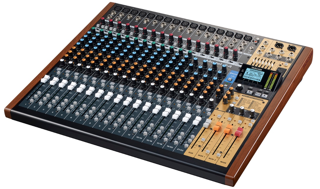 tascam intros model 24 digital multitrack recorder interface mixer. Black Bedroom Furniture Sets. Home Design Ideas