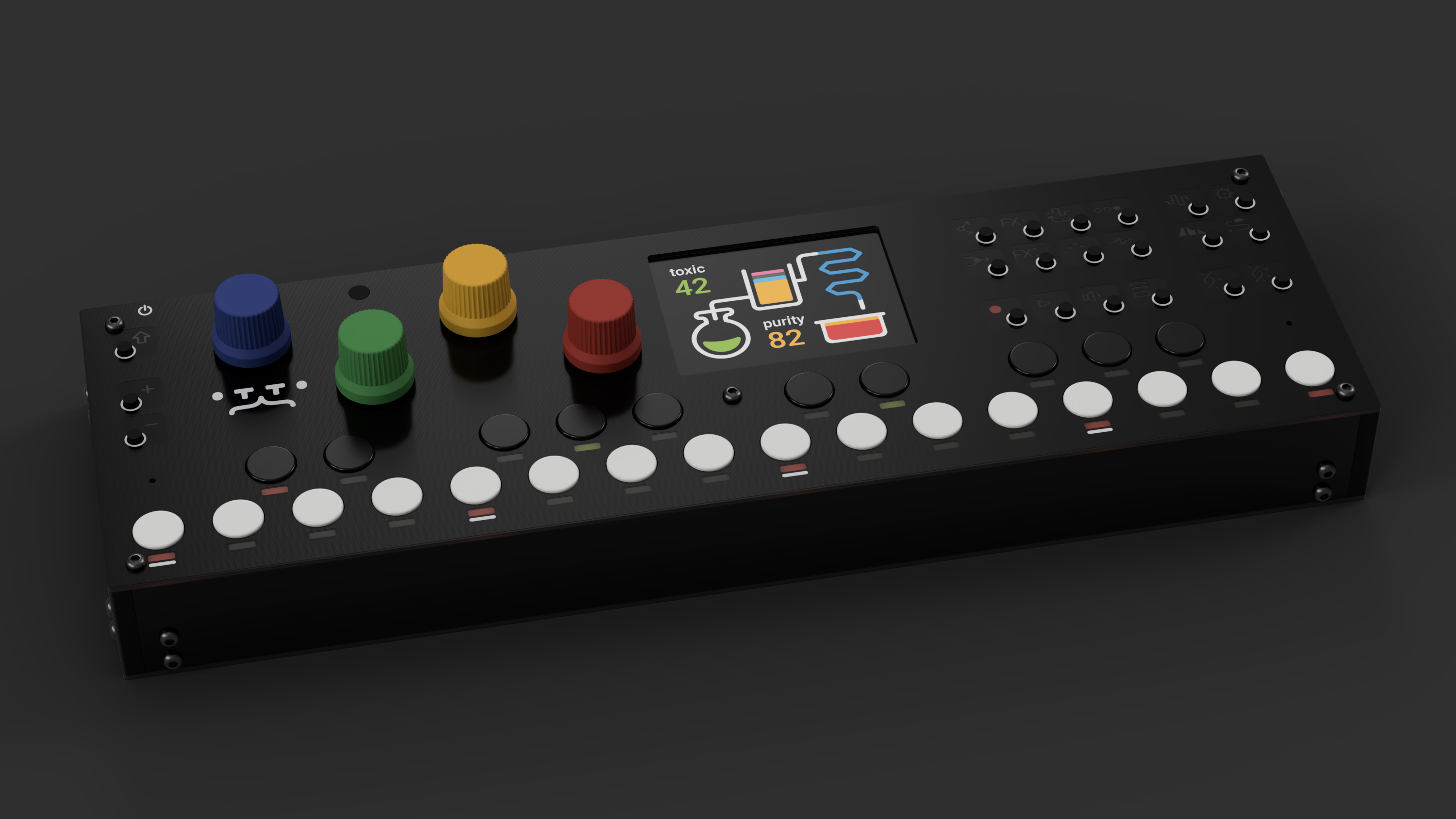 OTTO Is An Open-Source Hardware Synthesizer Inspired By The OP-1!