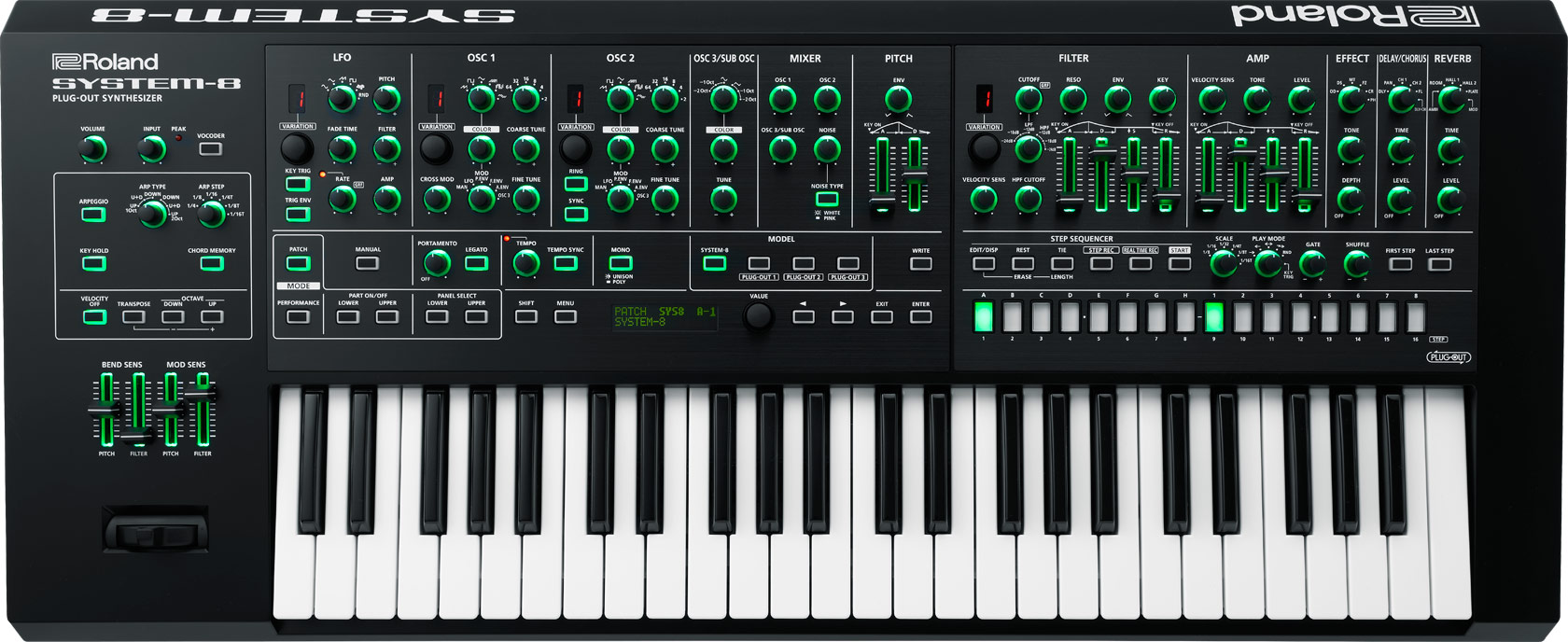 Roland Released System 8 Firmware V 1 3 With The New Jx 3p