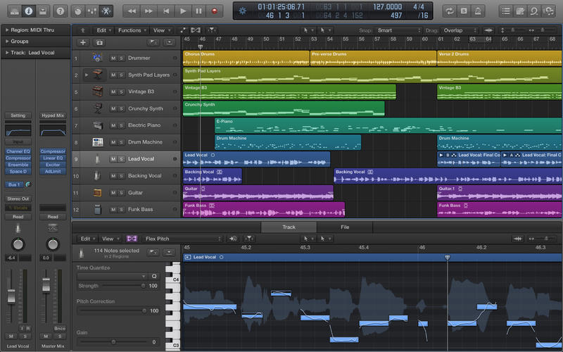 Apple Published Logic Pro X 10.4.2 With New Features & Improvements!