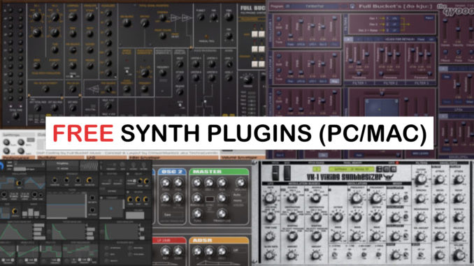 music synthesizer software free mac