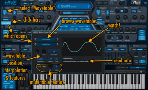 U-he HIVE Synthesizer 1 2 Will Get A Wavetable Scanning Feature!