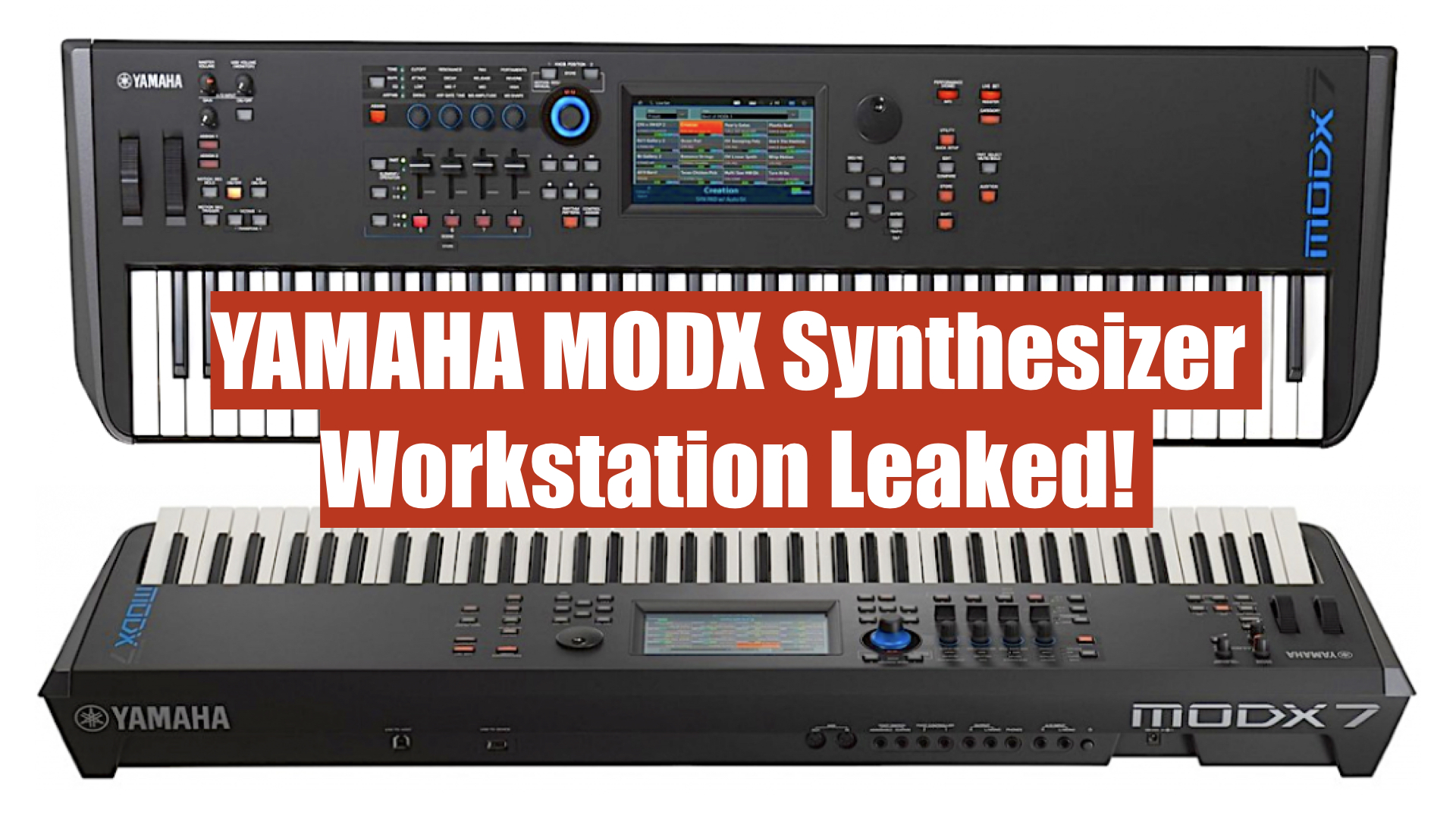New Yamaha MODX Synthesizer Workstation Leaked!