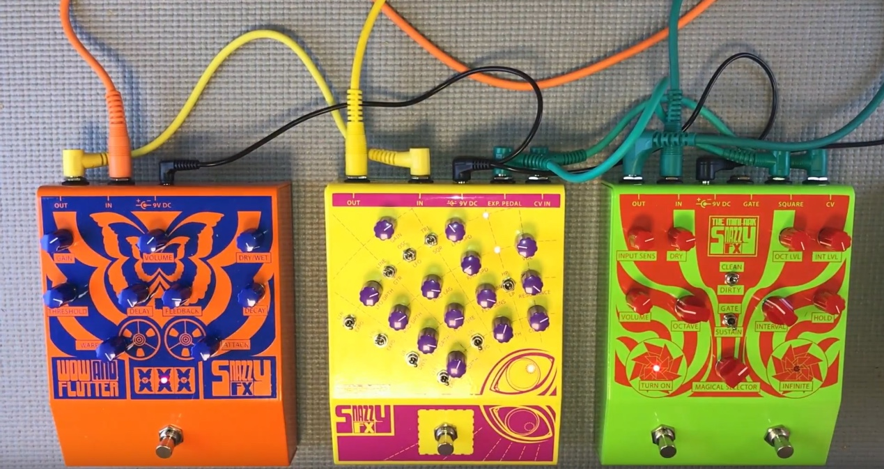 Erica Synths Released Snazzy FX Mini-Ark, Tracer City & Wow
