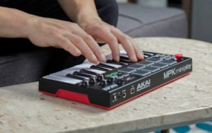Akai Pro Introduced MPK Mini Play MIDI Controller With Built-in Sounds!