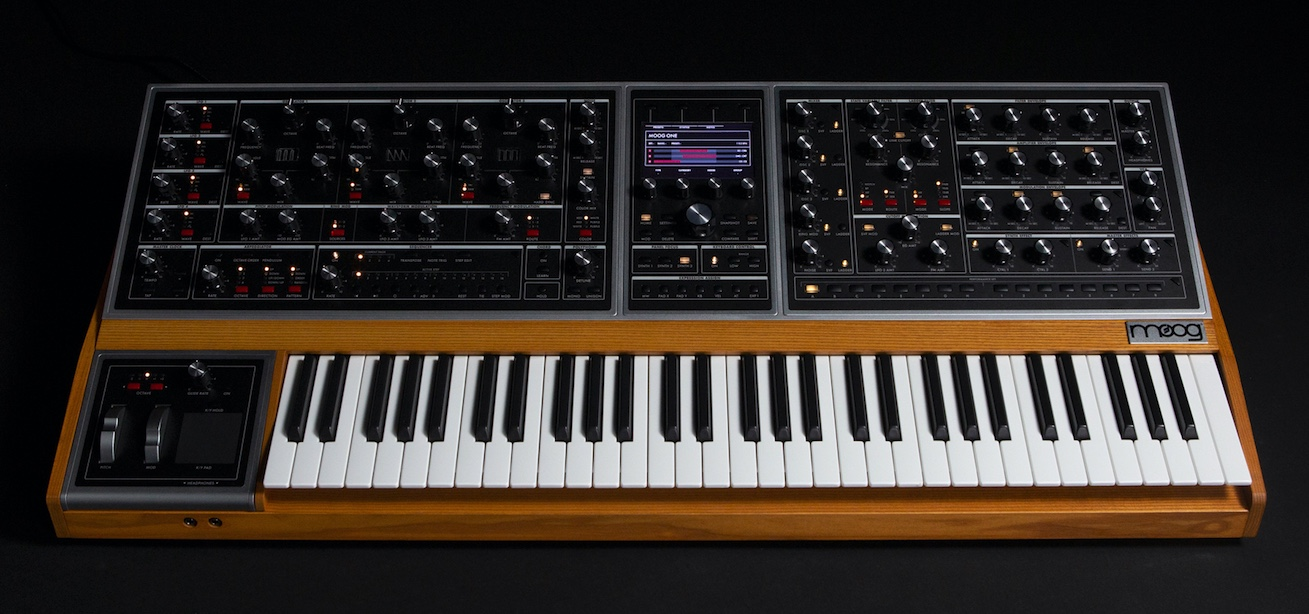 Moog Music Officially Launched The Moog One Poly Analog