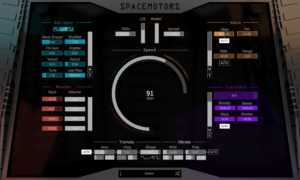 LeSound SpaceMotors Synthesizer Plugin