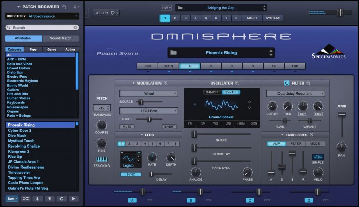 Spectrasonics Updated Omnisphere Synthesizer Plugin To V 2 5 1d!