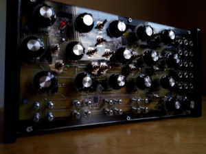 Muscarin semi-modular analog synthesizer