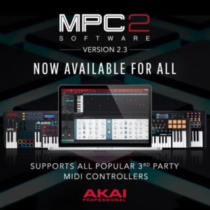 Akai Professional MPC Software 2.3