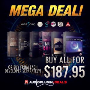 Audio Plugin Deals Mega Deal