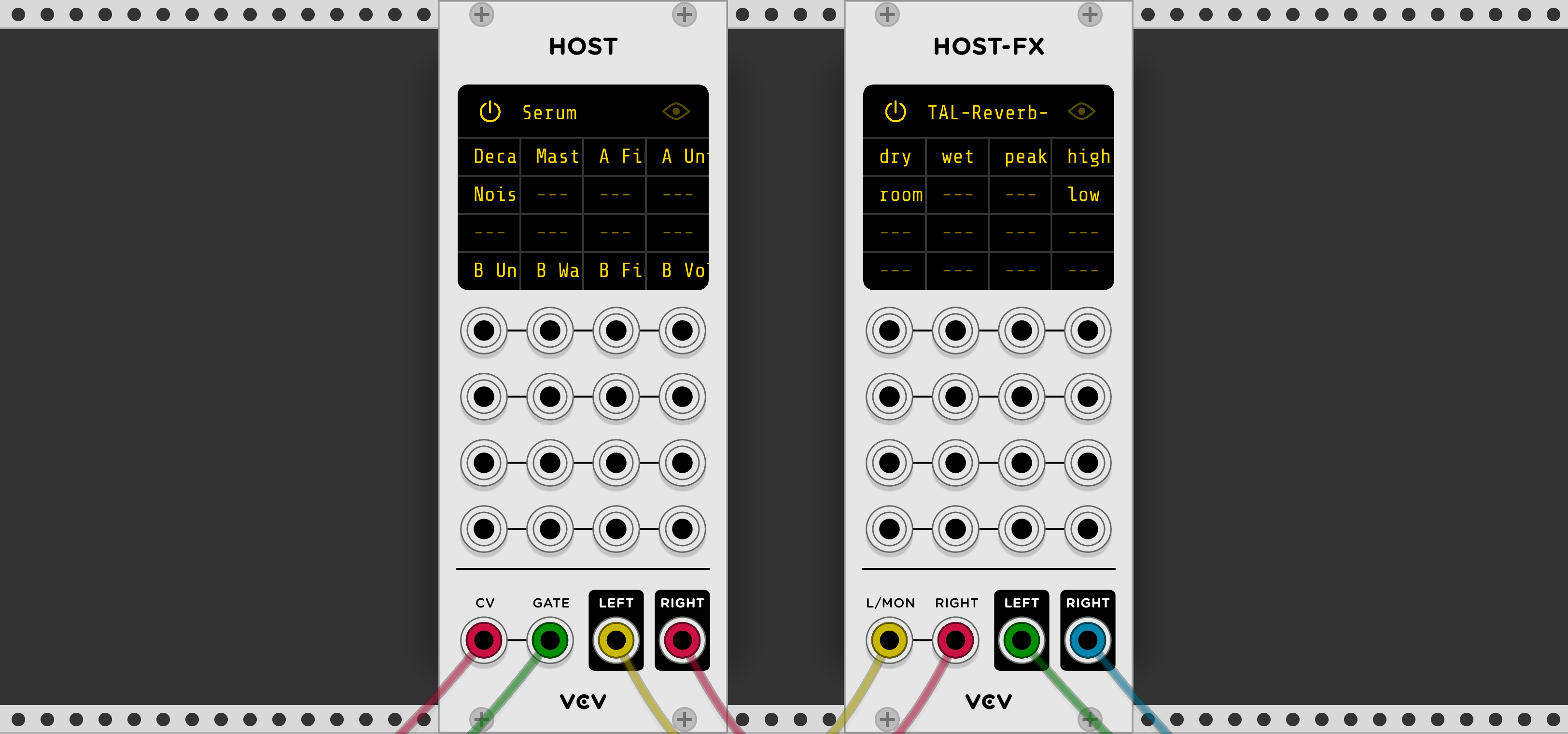 VCV Host Is A VST Plugin Host For VST Rack Modular Synthesizer!