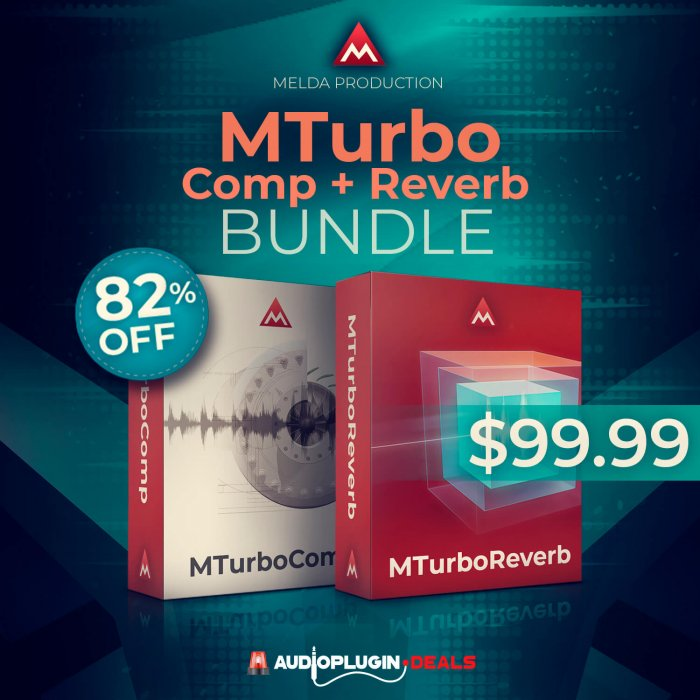 MTurbo Comp + Reverb Bundle
