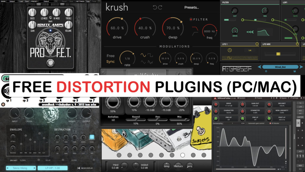 Free Distortion Plugins