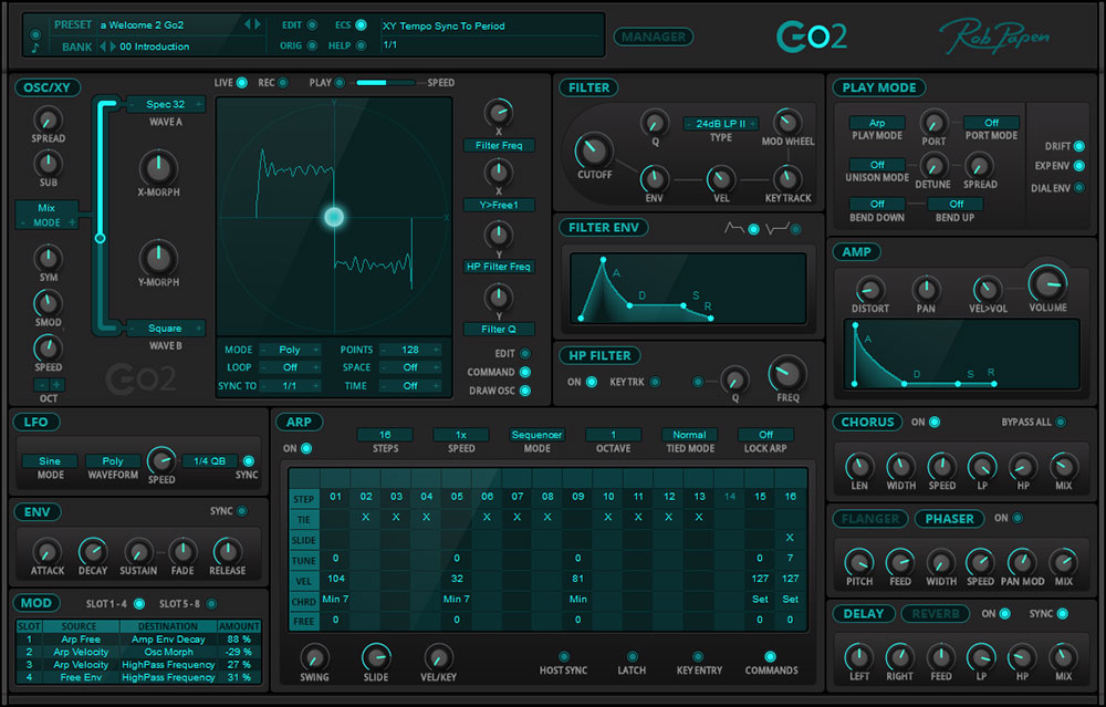 Rob Papen Go2 Synthesizer