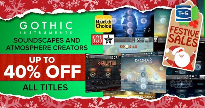Gothic Instruments Holiday Sale