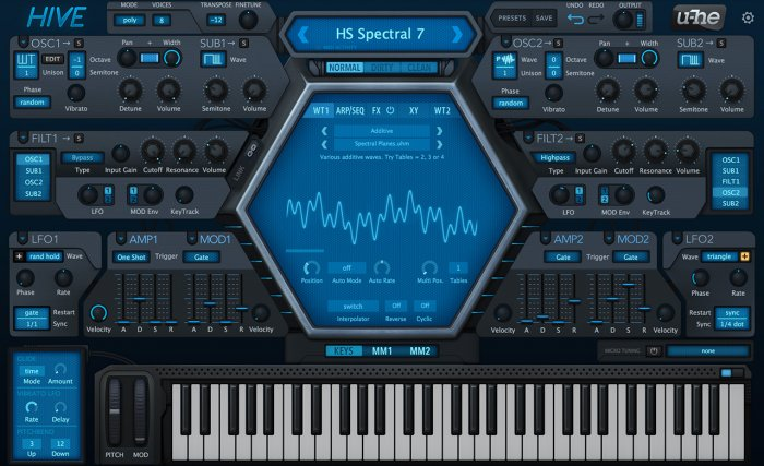 U-he Hive Synthesizer