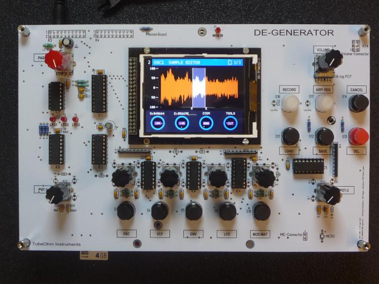De-Generator Synthesizer