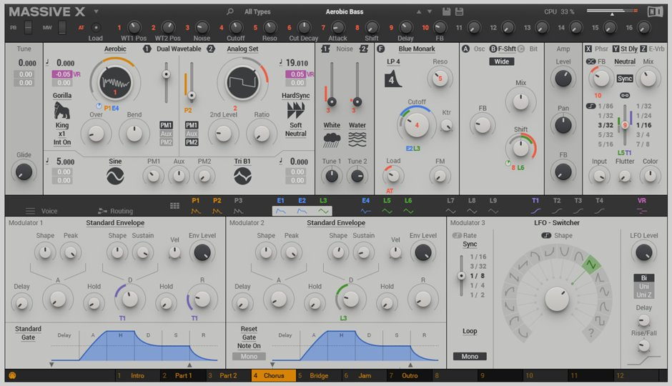 Native Instruments Massive X Synthesizer