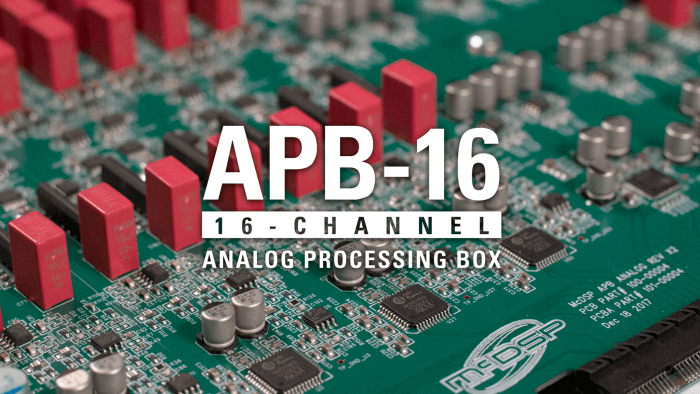 McDSP APB-16 Analog Processing Box