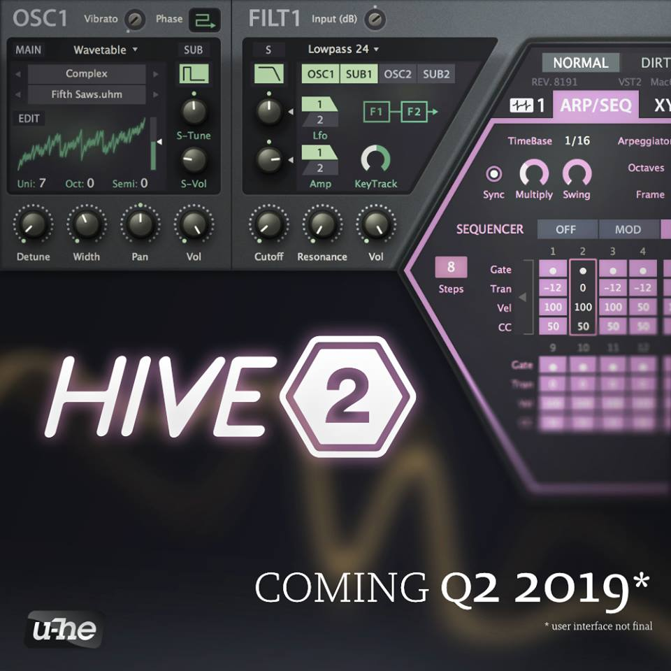 U-he Hive 2 Synthesizer