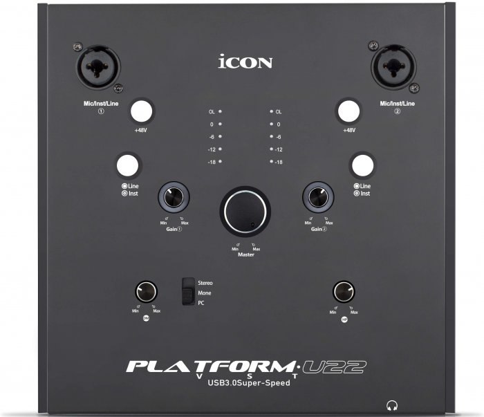 iCON Platform U22 VST Audio Interface